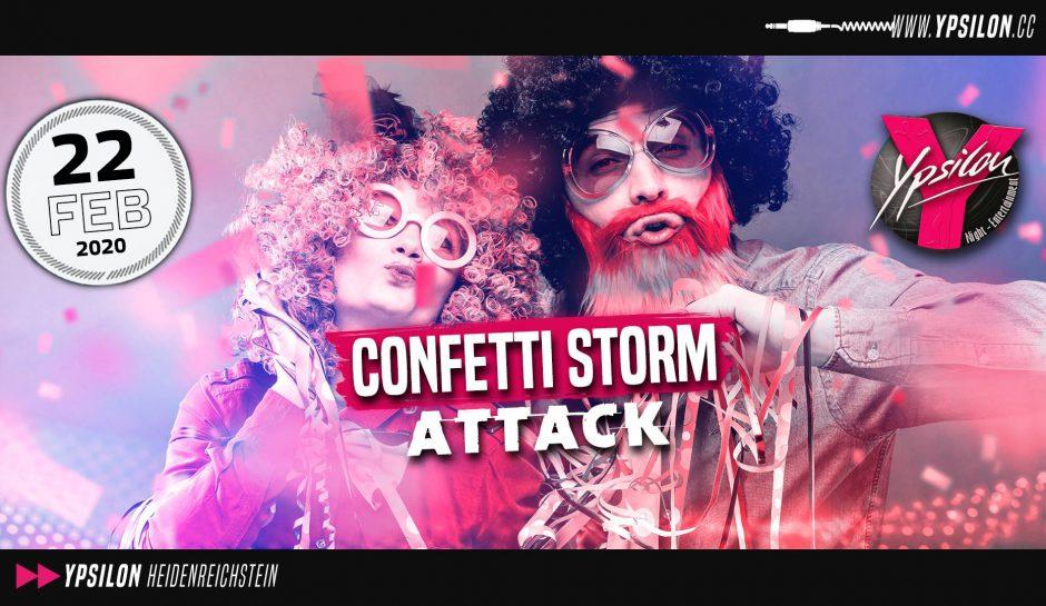 Confetti Storm Attack